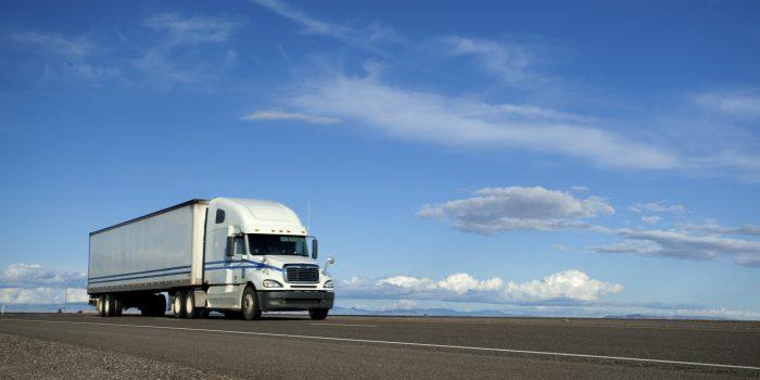 Semi-Truck on the Open Road