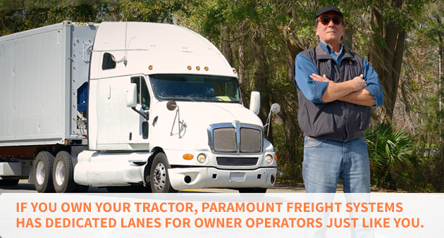 Here Are Some Benefits of Dedicated Lanes for Owner Operators